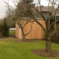 Neubau eines Gartenschuppens in Lübstorf