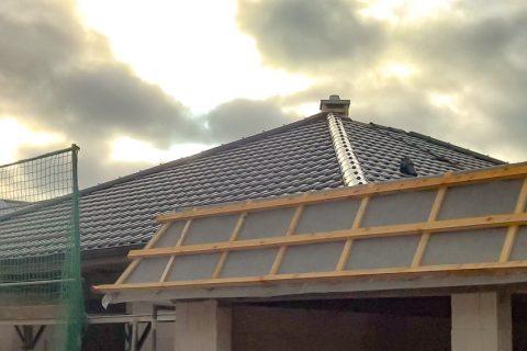 Neubau eines Bungalows <br />mit Garage in Schwerin – Warnitz
